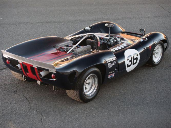 1966 Lola T70 Spyder (MkII) le-mans race racing w wallpaper