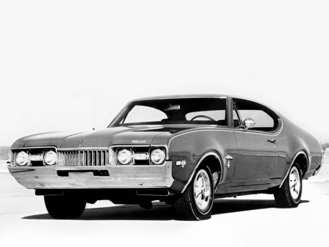 1968 Oldsmobile Cutlass SW-31 Holiday Coupe (3687 ) muscle classic wallpaper