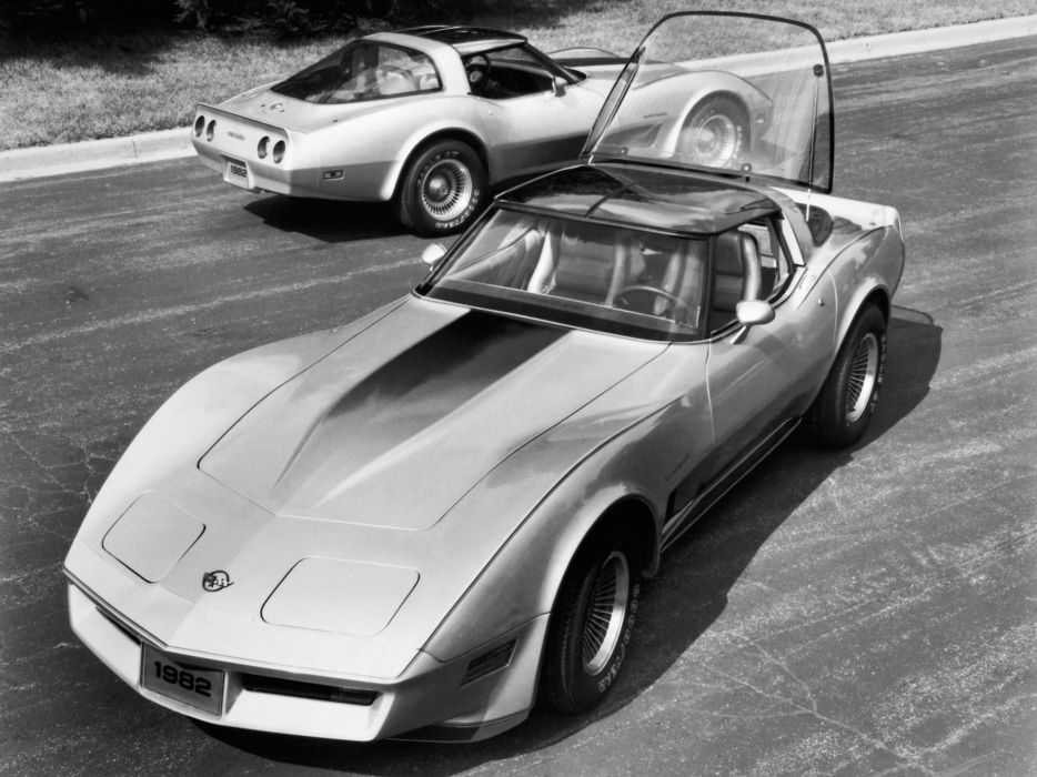 1982 Chevrolet Corvette Collector Edition (C-3) muscle supercar f wallpaper