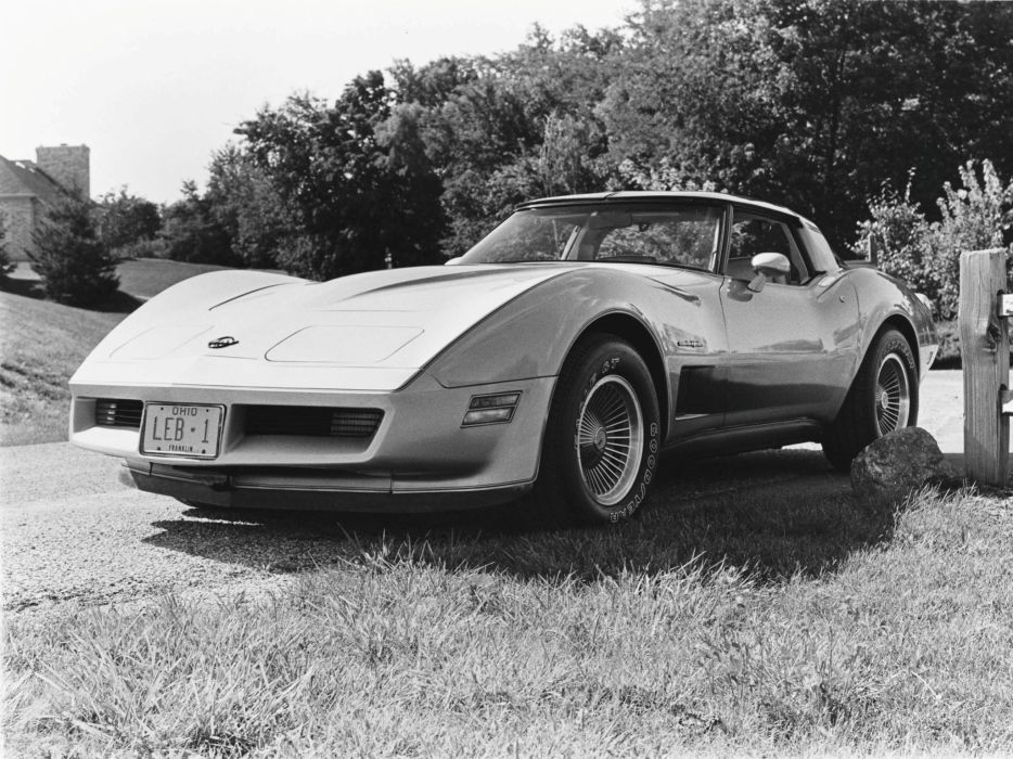 1982 Chevrolet Corvette Collector Edition (C-3) muscle supercar w wallpaper