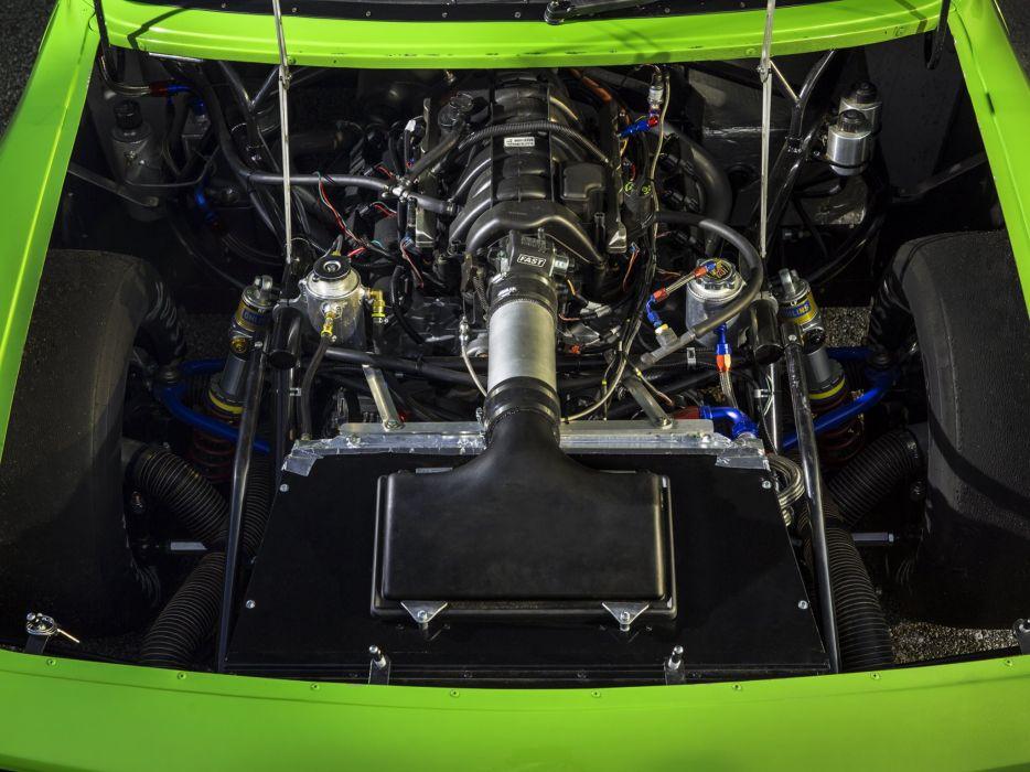 2014 Dodge Challenger SRT Trans-Am (L-C) race racing muscle w wallpaper