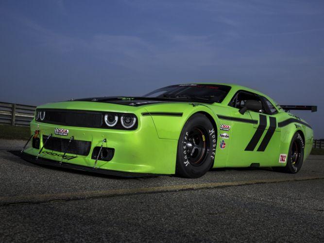 2014 Dodge Challenger SRT Trans-Am (L-C) race racing muscle dd wallpaper