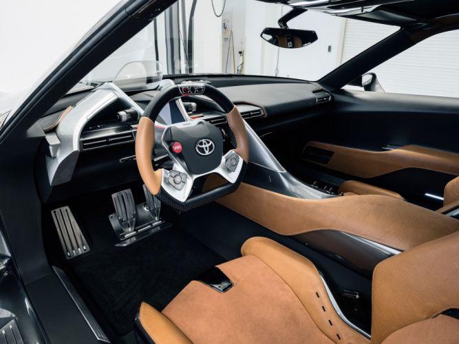 2014 Toyota FT1 Graphite Concept supercar w wallpaper
