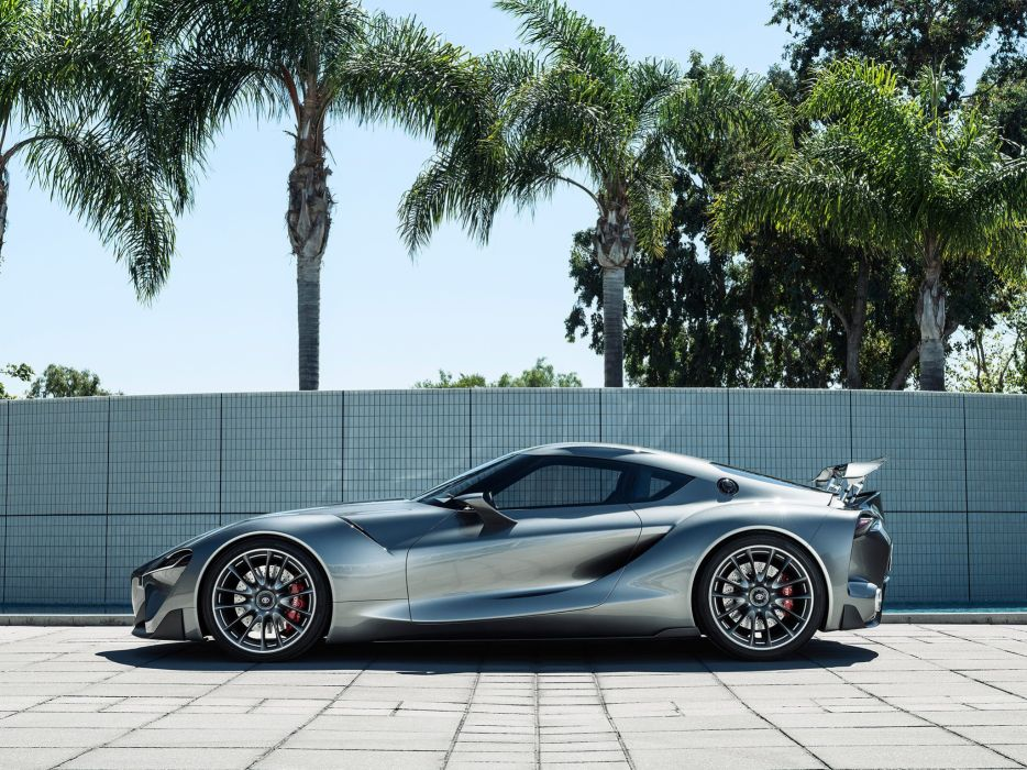 2014 Toyota FT1 Graphite Concept supercar f wallpaper