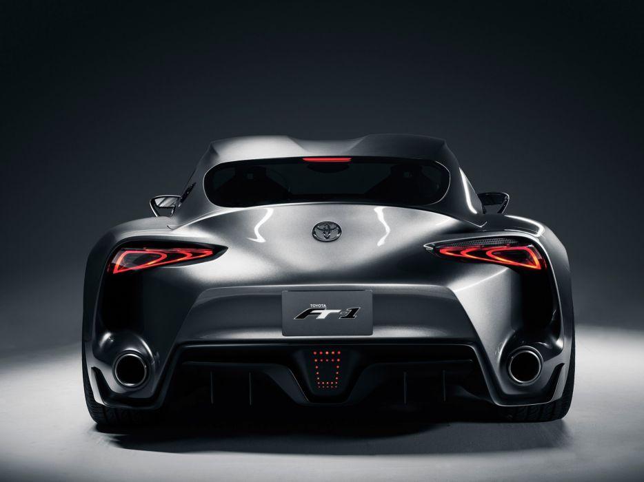 2014 Toyota FT1 Graphite Concept supercar es wallpaper