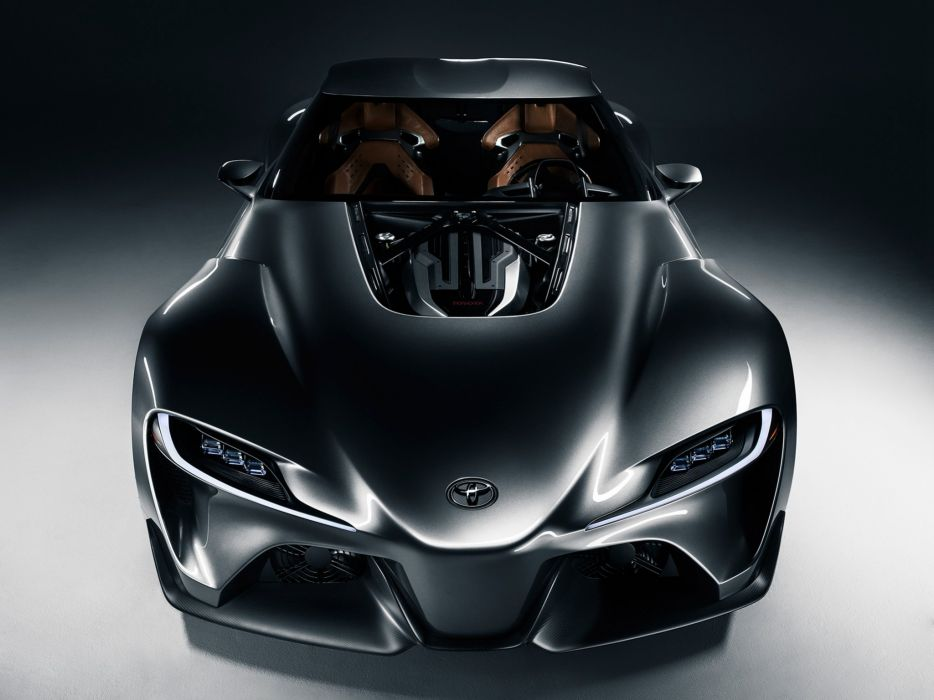 2014 Toyota FT1 Graphite Concept supercar e wallpaper