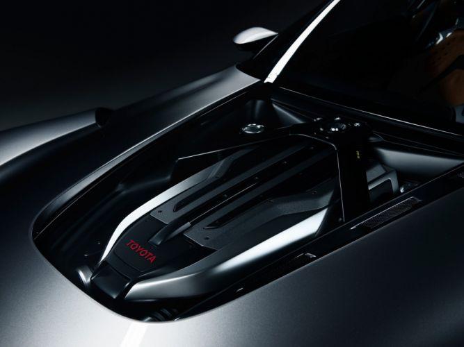 2014 Toyota FT1 Graphite Concept supercar s wallpaper