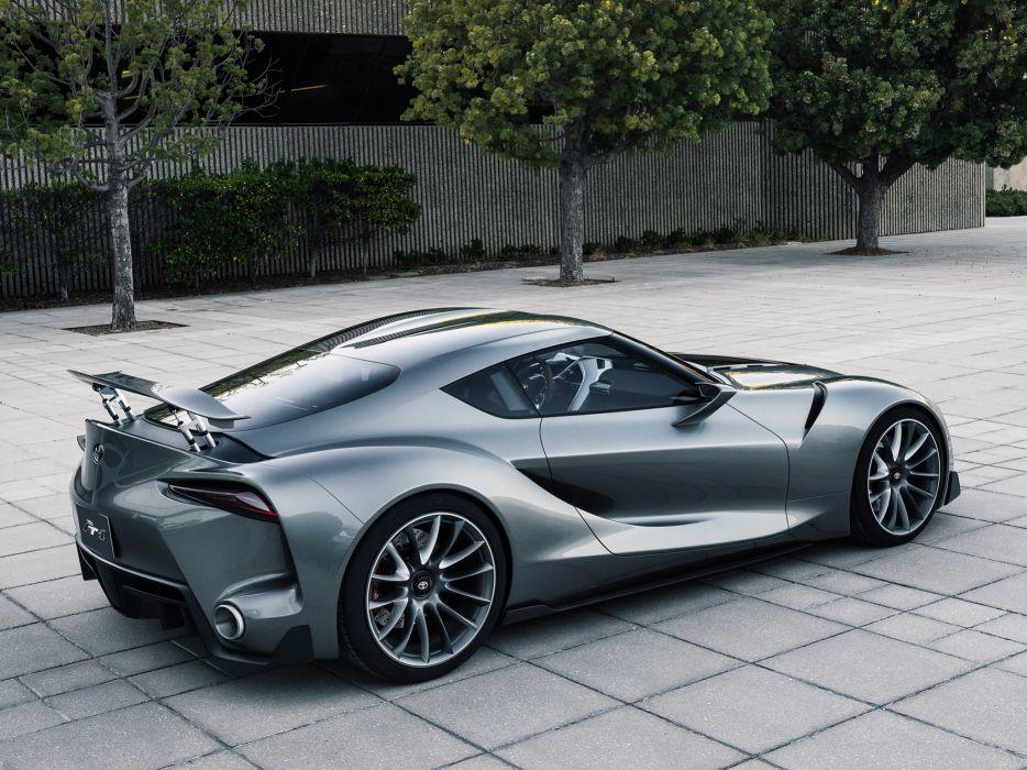 2014 Toyota FT1 Graphite Concept supercar f wallpaper
