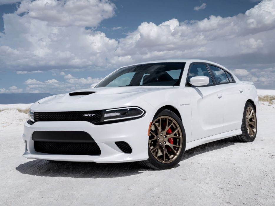 2015 Dodge Charger SRT Hellcat L-D muscle w wallpaper