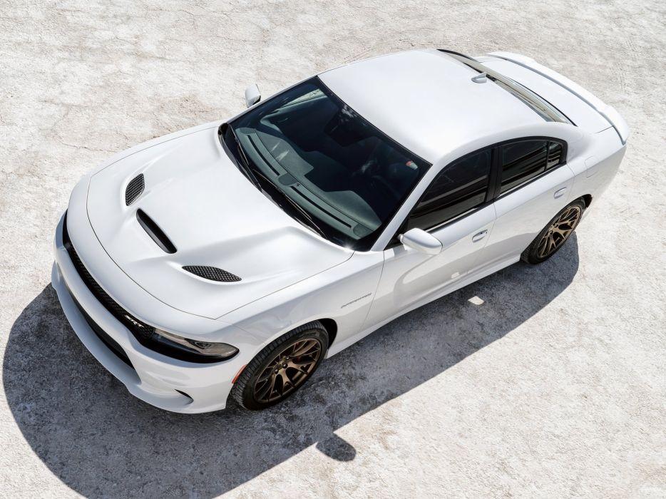 2015 Dodge Charger SRT Hellcat L-D muscle e wallpaper