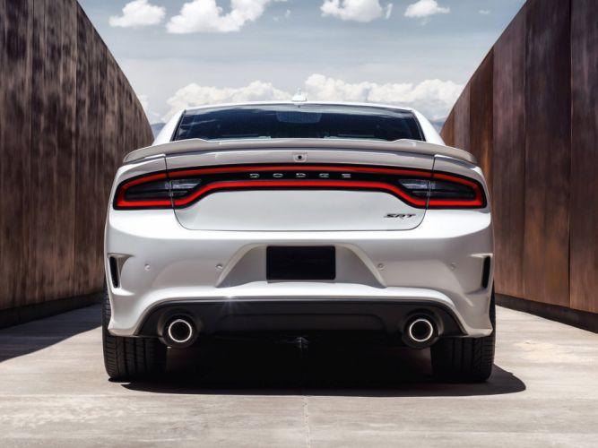 2015 Dodge Charger SRT Hellcat L-D muscle w wallpaper