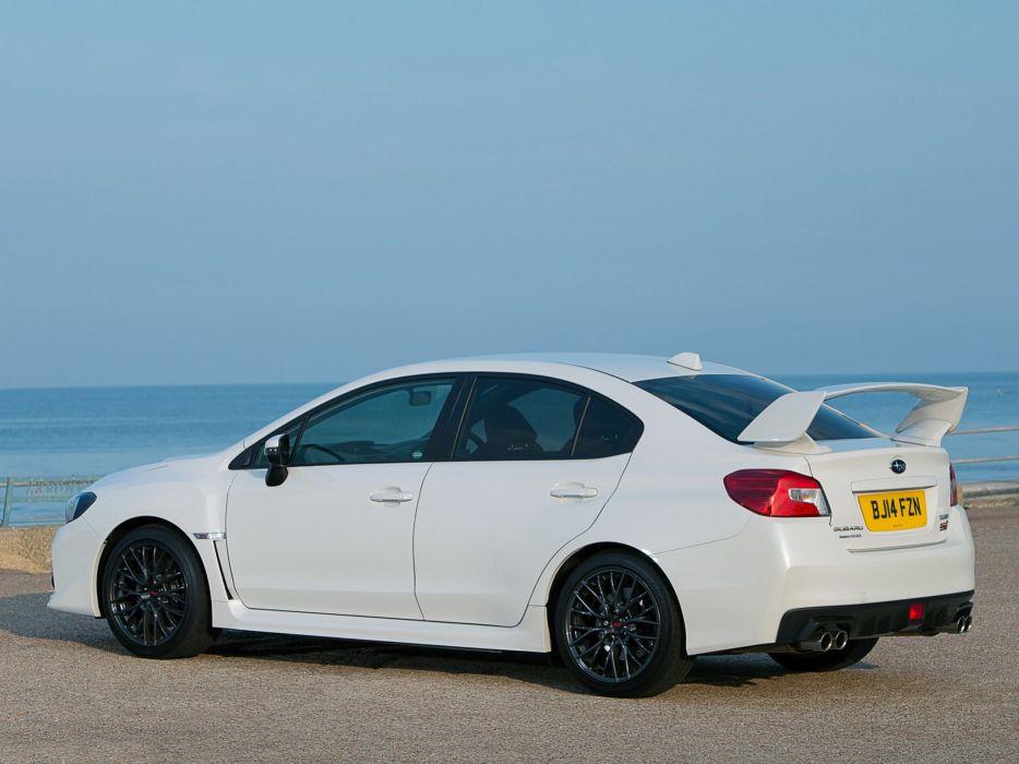 2014 Subaru WRX STI UK-spec wallpaper