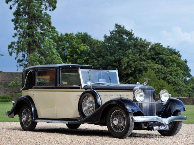 1935 Hispano Suiza K-6 Sedanca-de-Ville Franay luxury retro wallpaper