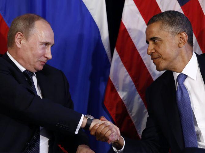 Putin vs Obama wallpaper