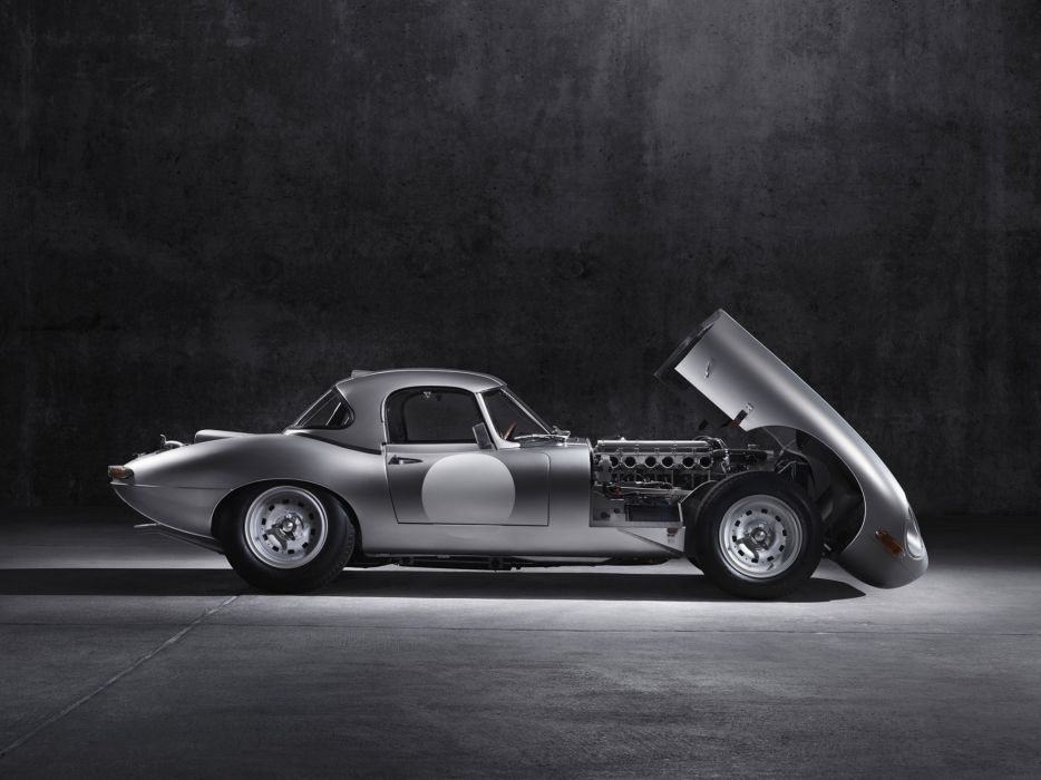 2014 Jaguar Lightweight E-Type race racing wallpaper