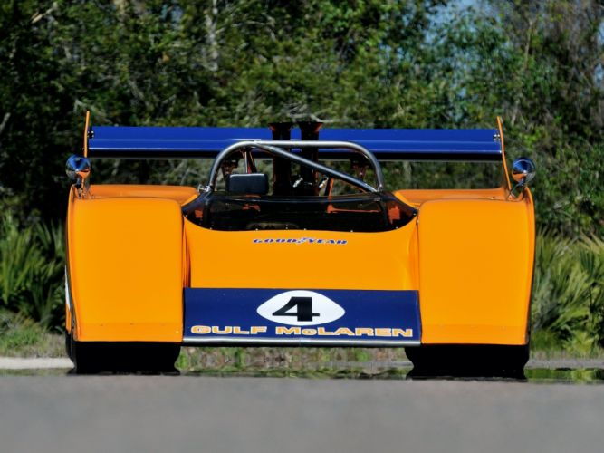 1972 McLaren M20 Group-7 Sports Prototype le-mans race racing classic wallpaper