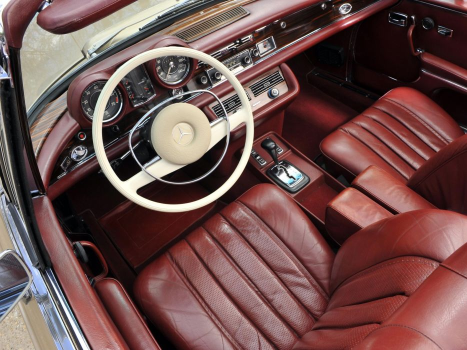 1969-71 Mercedes Benz 280SE 3-5 Cabriolet (W111) 280 classic luxury wallpaper