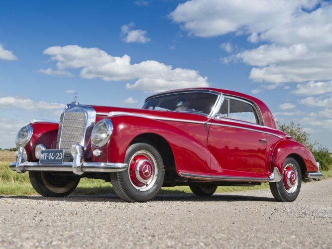 1951-55 Mercedes Benz 300S Coupe (W188) retro luxury 300 wallpaper