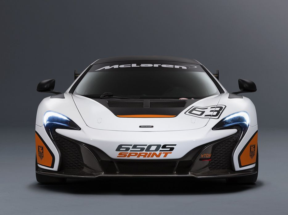 2014 McLaren 650S Sprint supercar race racing wallpaper