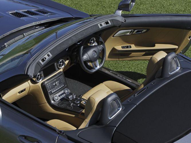2011 Mercedes Benz SLS63 AMG Roadster AU-spec (R197) sls supercar wallpaper