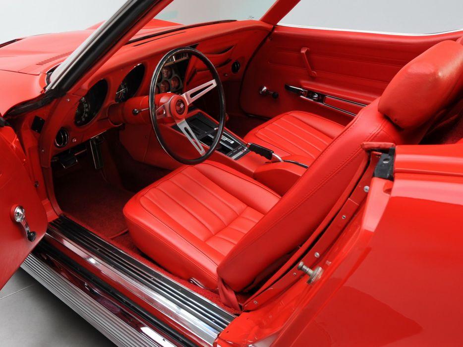 1969 Chevrolet Corvette Sting ray L46 350 Convertible (C-3) muscle classic wallpaper