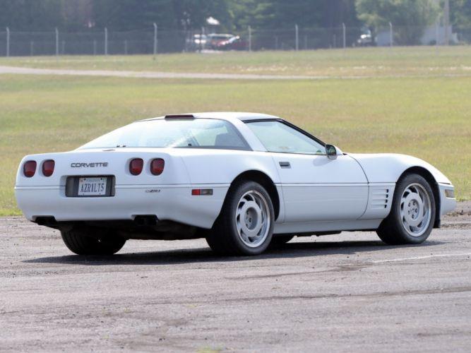 1991-95 Chevrolet Corvette ZR1 Coupe (C-4) muscle supercar wallpaper