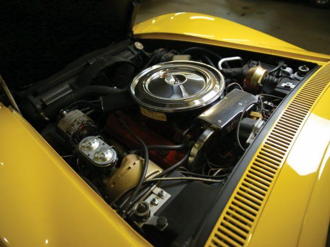1970-72 Chevrolet Corvette Stingray (C-3) sting ray muscle supercar wallpaper