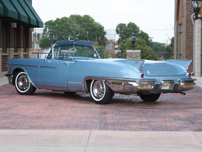 1958 Cadillac Eldorado Raindrop Dream luxury retro wallpaper