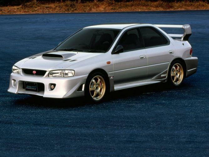 2000 Subaru Impreza STi S201 (GC8) wallpaper