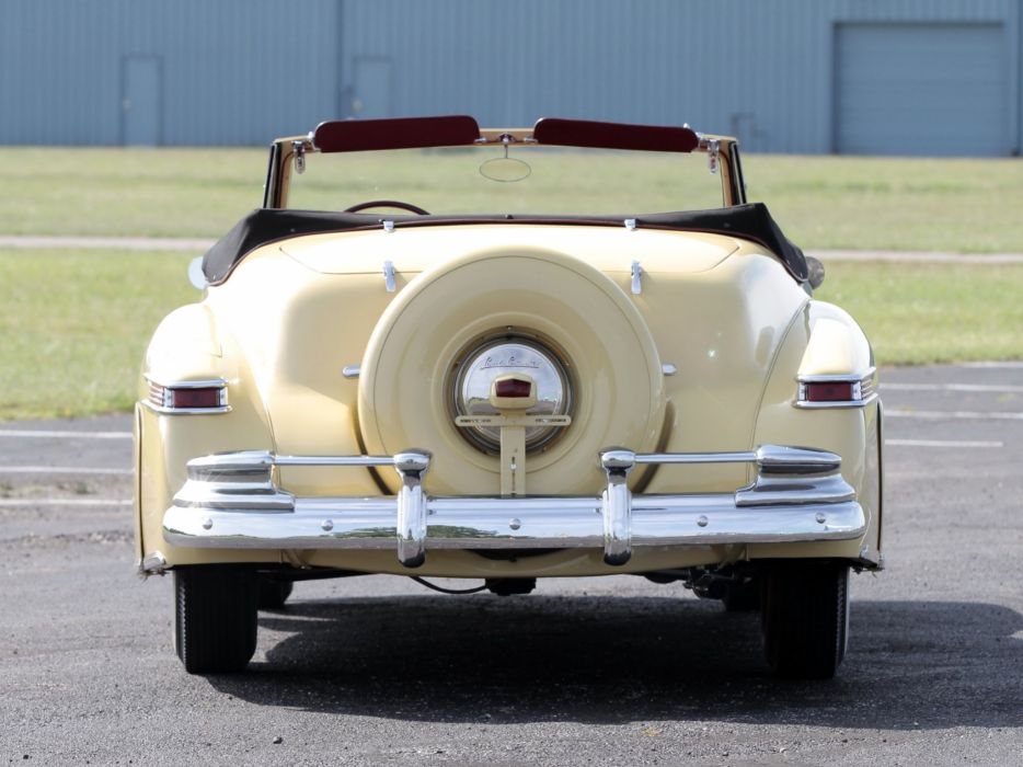 1946 Lincoln Continental Cabriolet Indy 500 Pace retro luxury race racing wallpaper