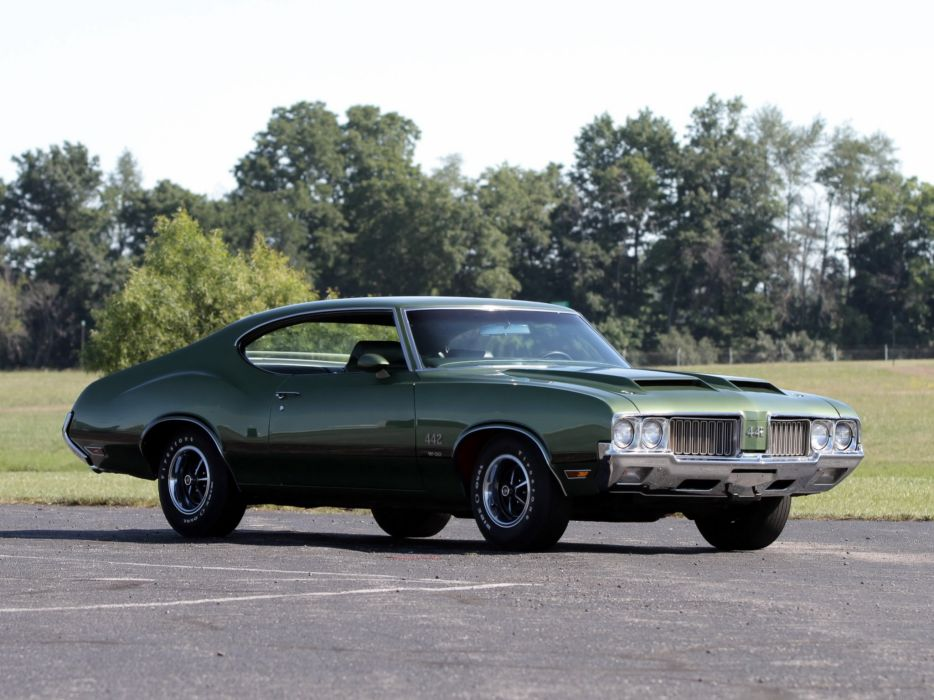 1970 Oldsmobile 442 W-30 Holiday Coupe (4487) muscle classic wallpaper