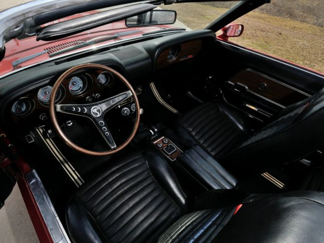 1969 Shelby GT500 Convertible ford mustang muscle classic wallpaper