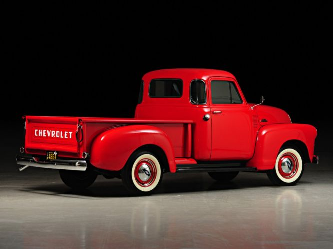 1954 Chevrolet 3100 Pickup Truck (H-3104) retro ds wallpaper