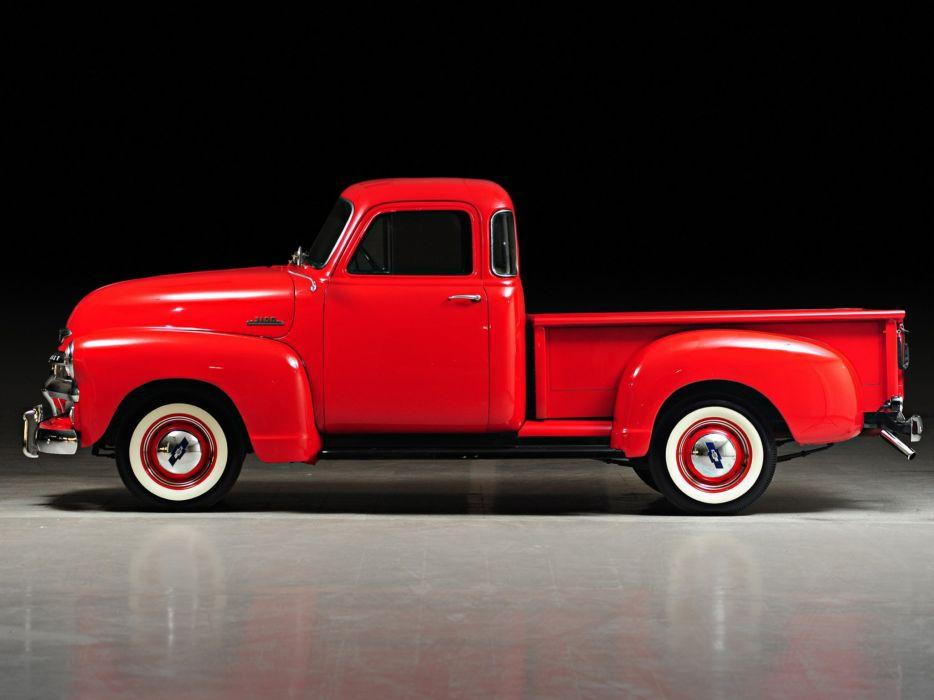 1954 Chevrolet 3100 Pickup Truck (H-3104) retro w wallpaper