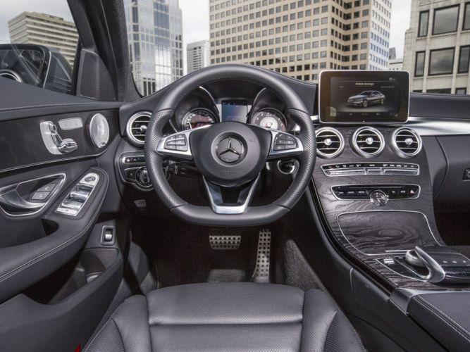 2015 Mercedes Benz C300 4MATIC AMG US-spec (W205) 300 wallpaper