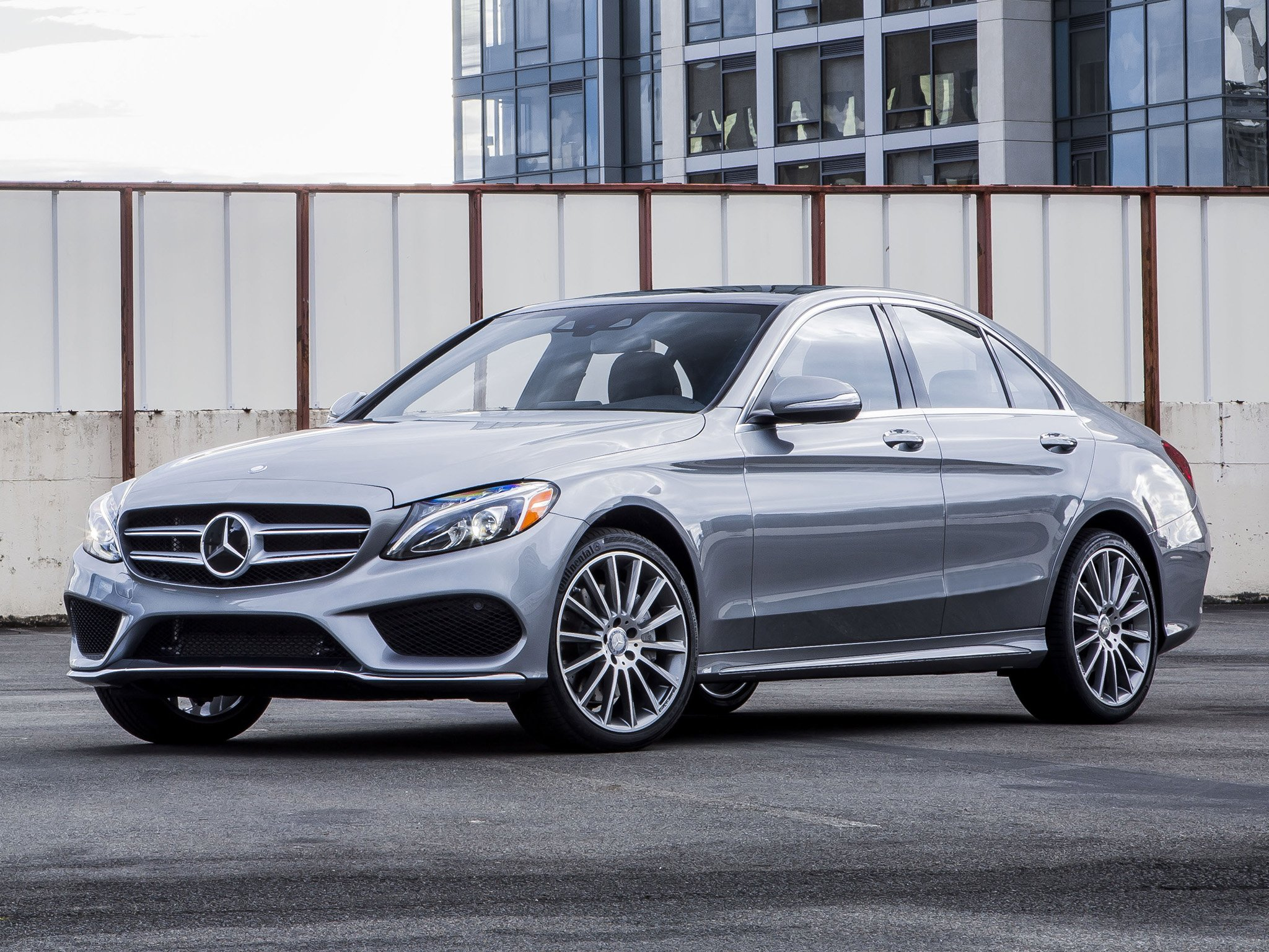 2015 Mercedes Benz C300 4MATIC AMG US-spec (W205) 300