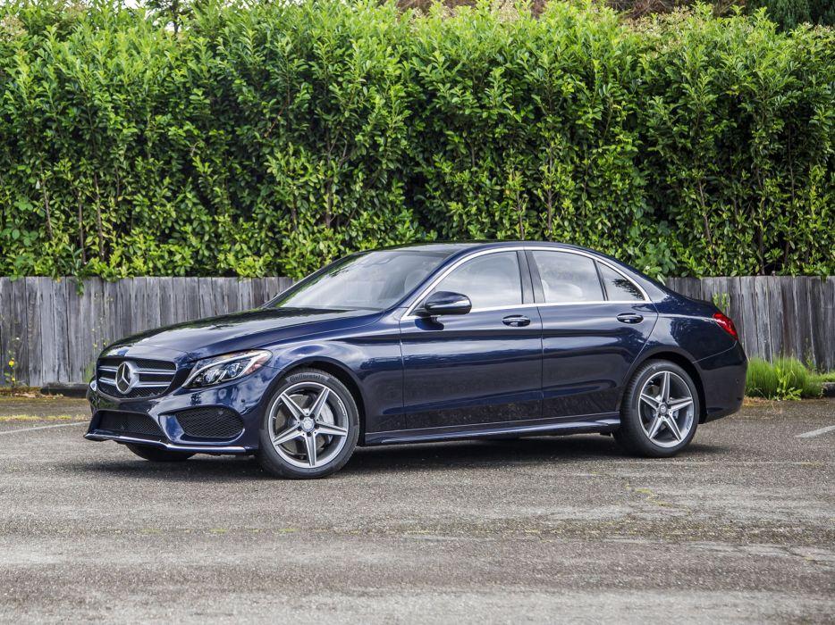 2015 Mercedes Benz C400 4MATIC AMG US-spec (W205 400 luxury wallpaper