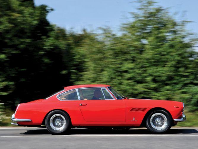 1963 Ferrari 330 America classic supercar wallpaper