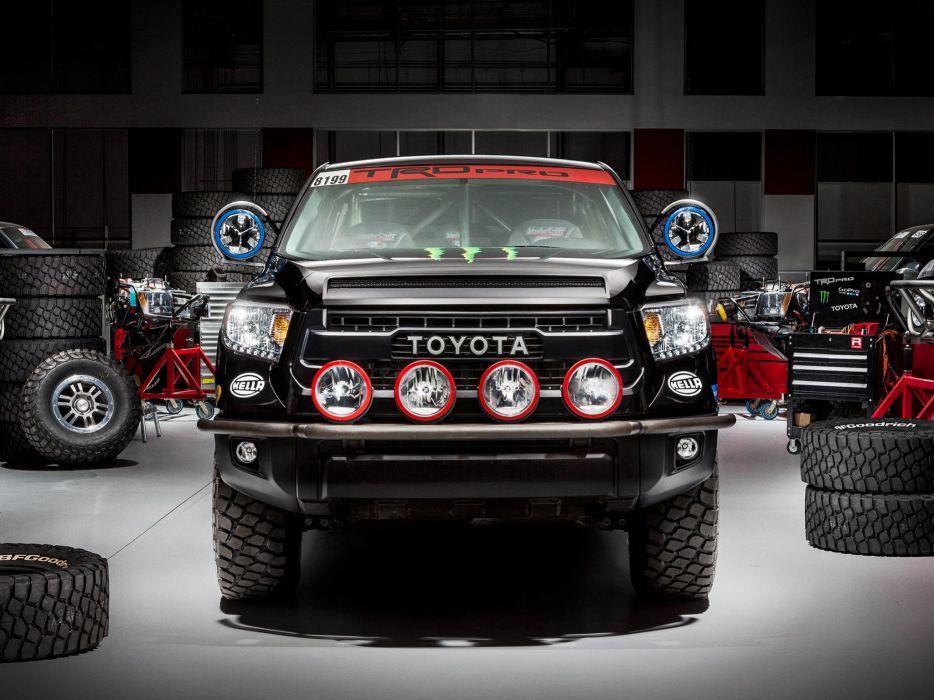 2014 TRD Toyota Tundra Pro Baja offroad race racing pickup 4x4 wallpaper