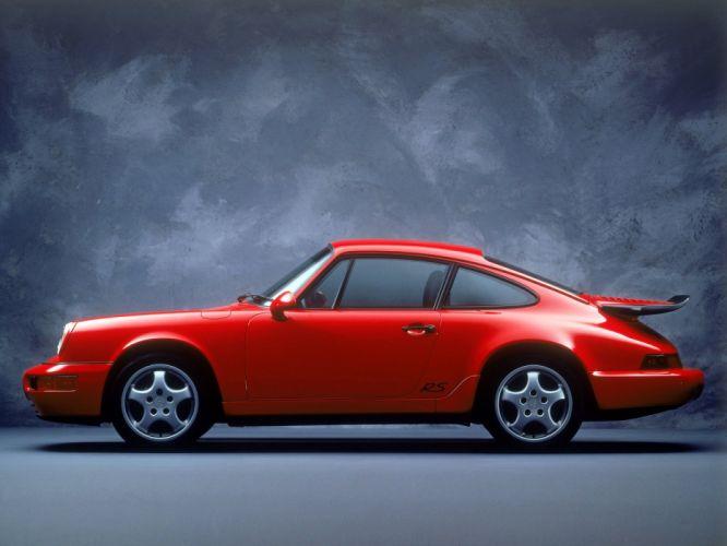 1993 Porsche 911 Carrera R-S America (964) supercar wallpaper