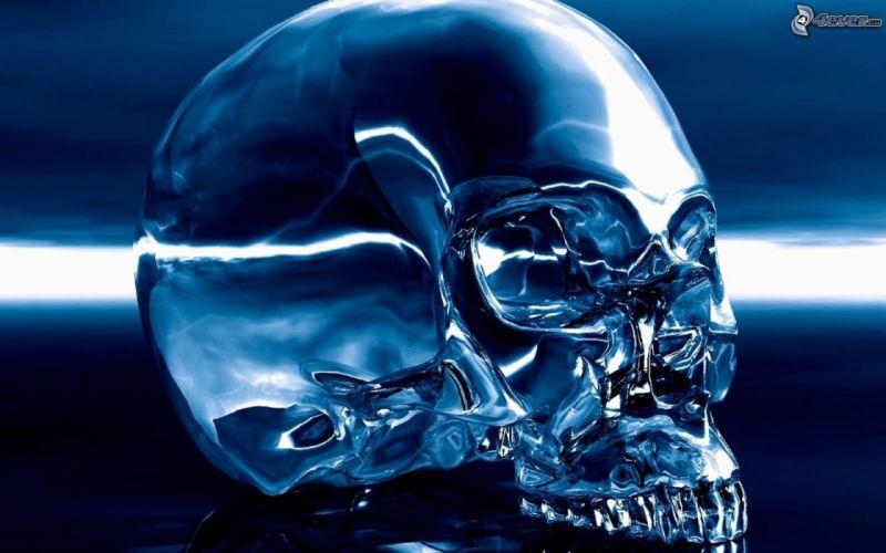 crystal skull wallpaper