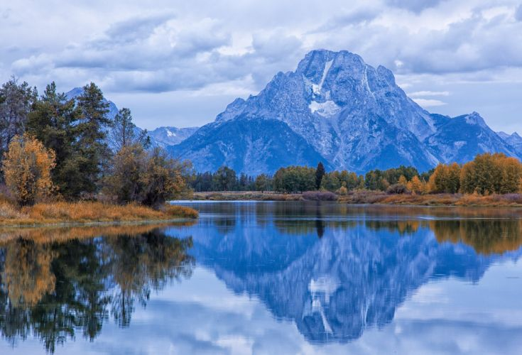 usa snake river mount moran wyoming grand teton national park wallpaper