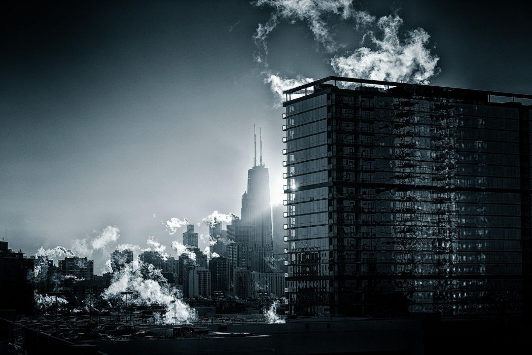 Chicago america usa skyscrapers city home building r wallpaper