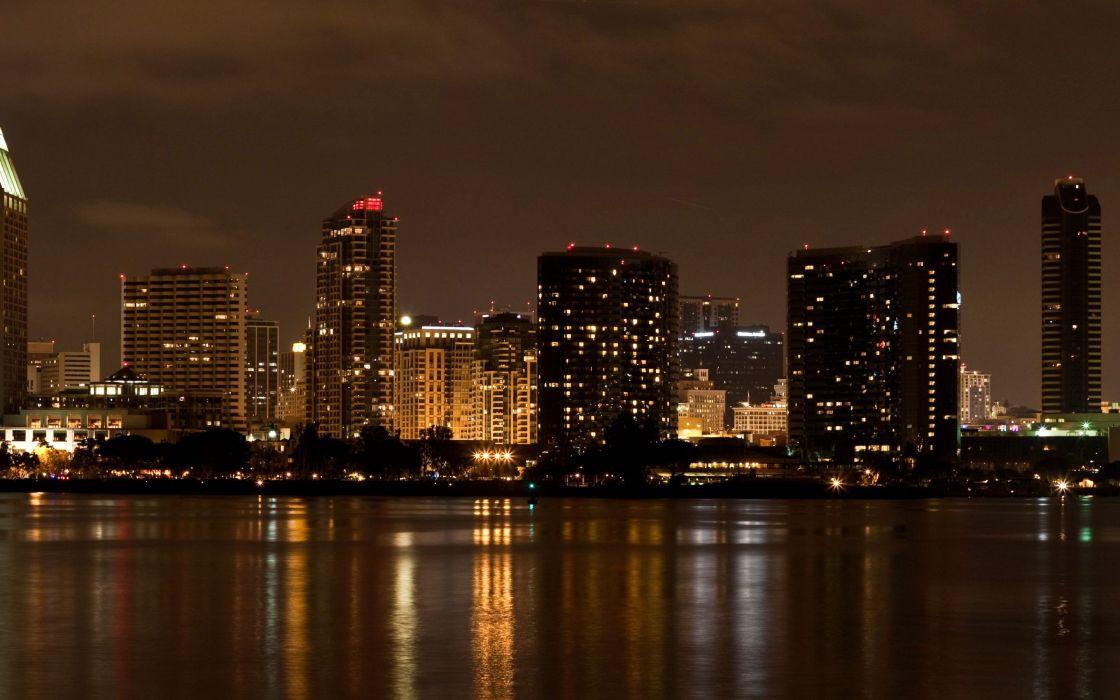 USA California San Diego city town wallpaper