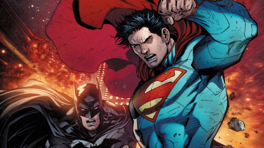 The World's Finest Superman and Batman wallpaper