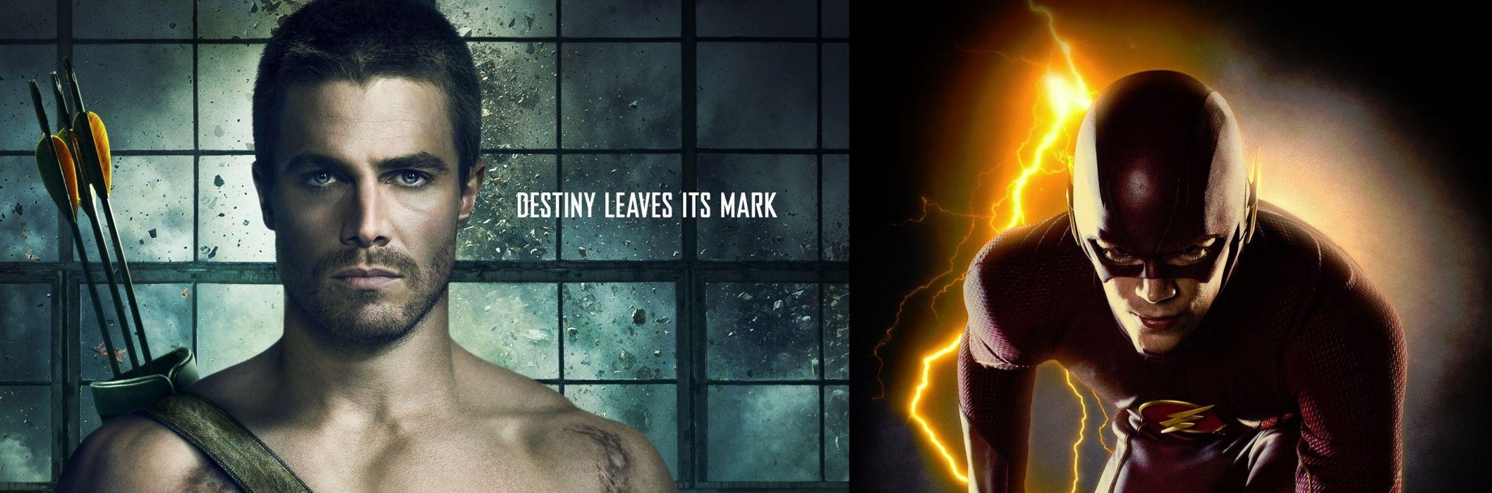 THE FLASH Arrow Superhero Drama Action Series Mystery Sci Fi Dc Comics Comic D C