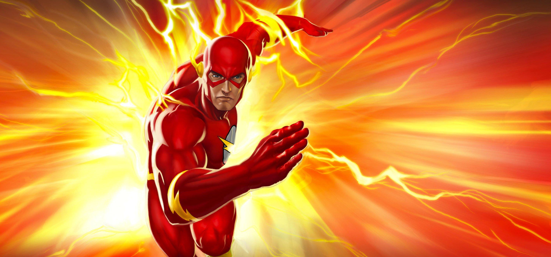 THE FLASH superhero drama action series mystery sci-fi dc