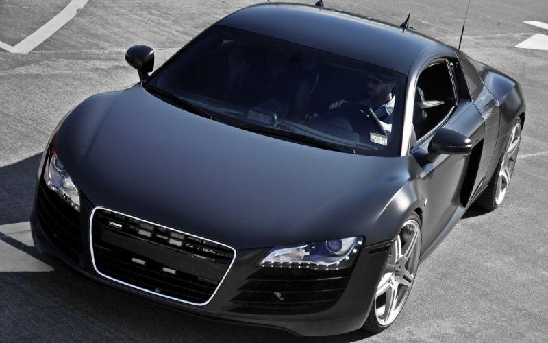 Audi R8 Matte Black wallpaper