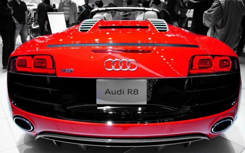 Audi R8 Spyder wallpaper