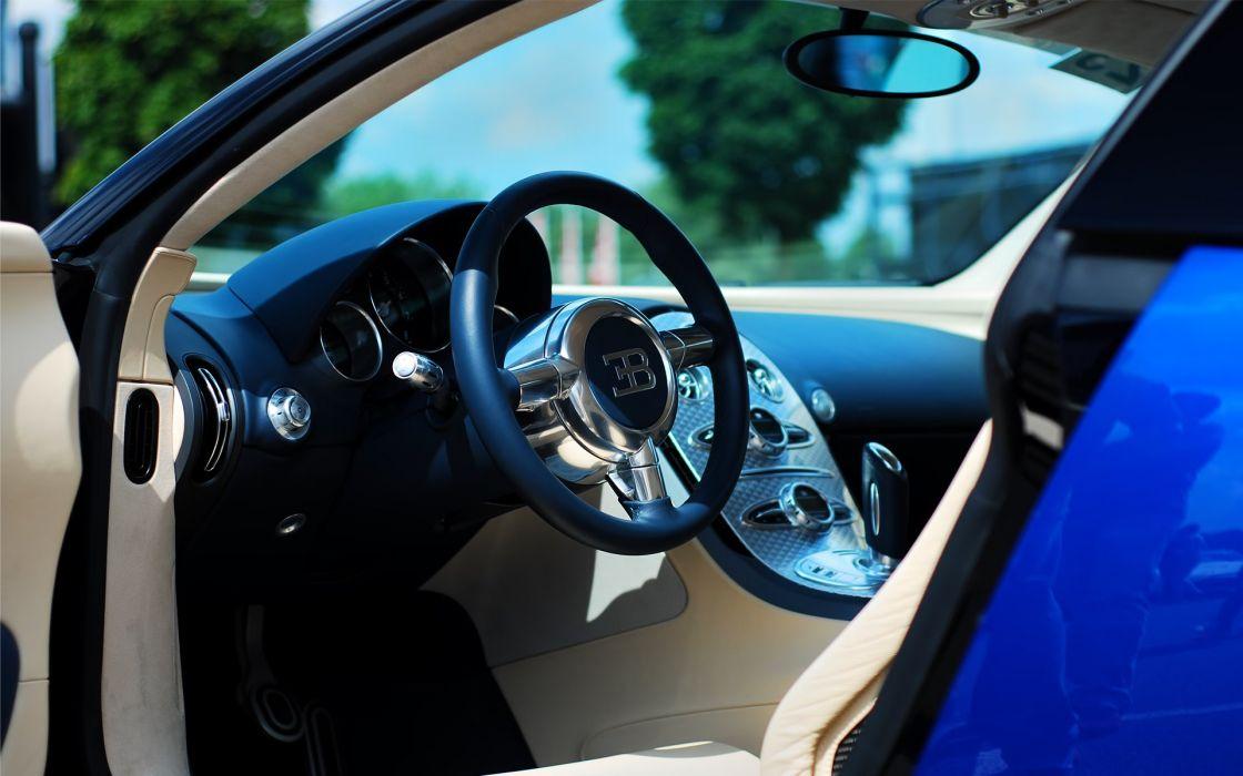 Bugatti Veyron EB Interior wallpaper
